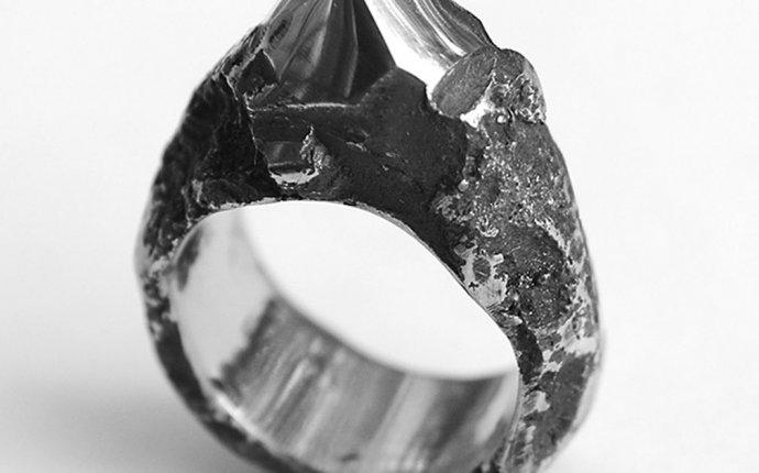 кольцо стальное квадратное в магазине «Ko and Co Jewelry» на