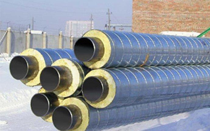 Стальные трубы в ППУ изоляции в оболочке из полиэтилена